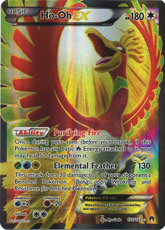 Ho-Oh EX Full Art - 127/122 - BREAKPoint