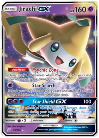 Jirachi GX - 79/236 - Unified Minds