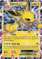 Jolteon EX - 28/83 - Generations
