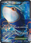 Kyogre EX Full Art - 104/108 - Dark Explorers