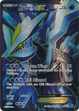 Kyurem EX Full Art - 96/99 - Next Destinies