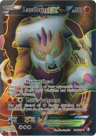 Landorus EX Full Art - 144/149 - Boundaries Crossed