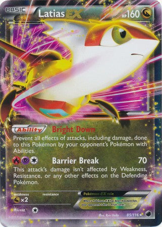 Latias EX - 85/116 - Plasma Freeze