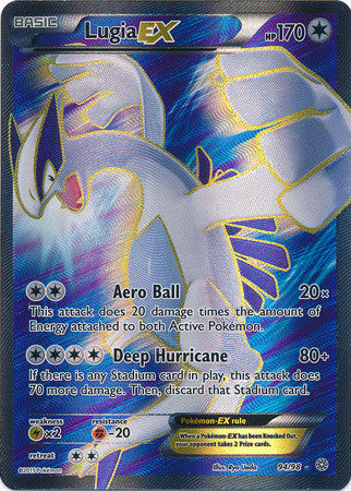 Lugia EX Full Art - 94/98 - Ancient Origins (Lightly Played)