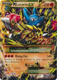 M Lucario EX Secret Rare - 113/111 - Furious Fists