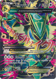 M Rayquaza EX Full Art - 105/108 - Roaring Skies