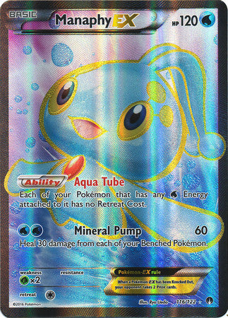 Manaphy EX Full Art - 116/122 - BREAKPoint