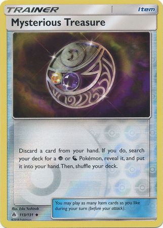 Mysterious Treasure Reverse Holo - Forbidden Light - 113/131
