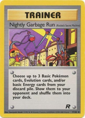 Nightly Garbage Run - 77/82 - Team Rocket