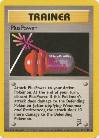 PlusPower - 113/130 - Base 2