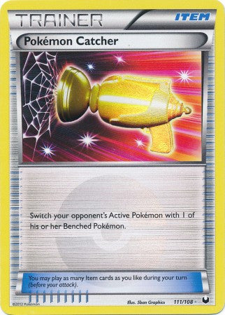Pokemon Catcher Secret Rare - 111/108 - Dark Explorers
