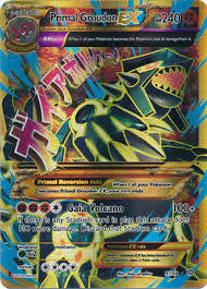 Primal Groudon EX Full Art Secret Rare - 97/98 - Ancient Origins