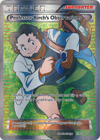 Professor Birch's Observation Full Art - 159/160 - Primal Clash