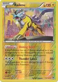Raikou Reverse Holo Rare - 55/162 - BREAKThrough
