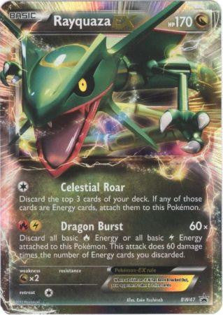 Rayquaza EX - BW47 - Black and White Promos