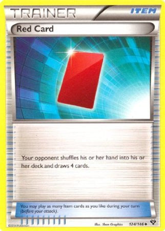 Red Card - 124/146 - XY Base