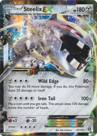 Steelix EX - 67/114 - Steam Siege