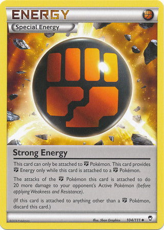 Strong Energy - 104/111 - Furious Fists