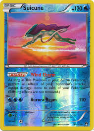 Suicune Reverse Holo Rare - 30/122 - BREAKPoint
