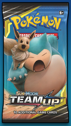 Team Up PTCGO Booster Pack Code