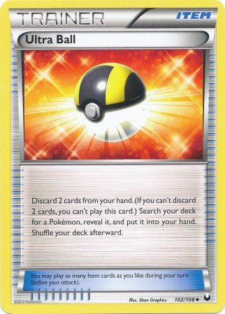 Ultra Ball - 102/108 - Dark Explorers
