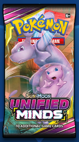 Unified Minds PTCGO Booster Pack Code