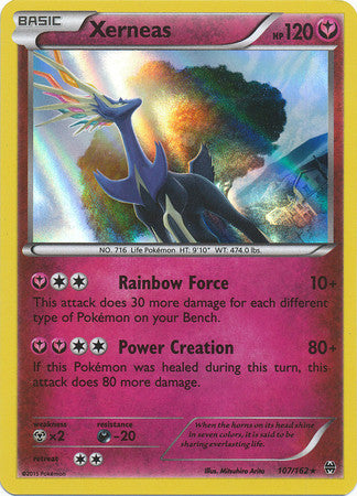Xerneas Holo Rare - 107/162 - BREAKThrough