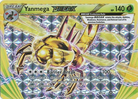 Yanmega BREAK - 8/114 - Steam Siege
