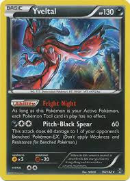 Yveltal Holo Rare - 94/162 - BREAKThrough