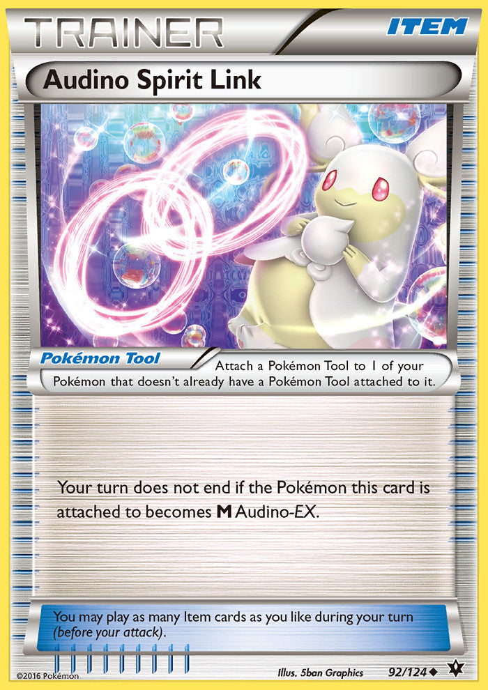Audino Spirit Link - 92/124 - Fates Collide