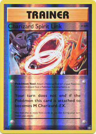 Charizard Spirit Link Reverse Holo - 75/108 - Evolutions