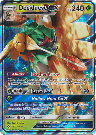 Decidueye GX - 12/149 - Sun and Moon Base Set