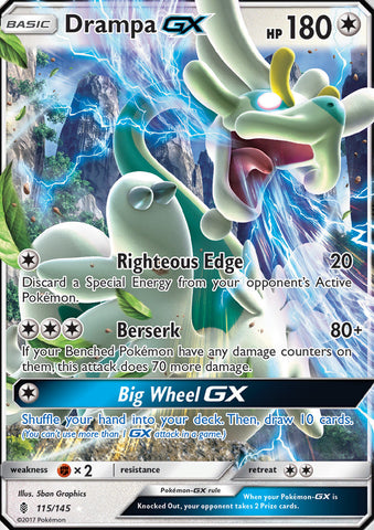 Drampa GX - 115/145 - Guardians Rising