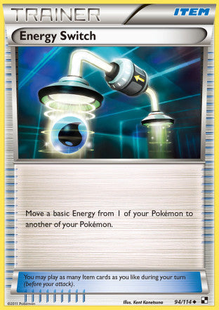 Energy Switch - 94/114 - Black and White Base