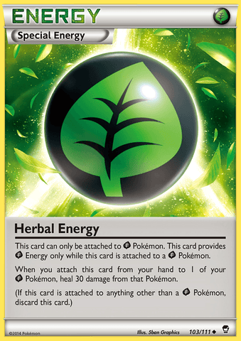 Herbal Energy - 103/111 - Furious Fists