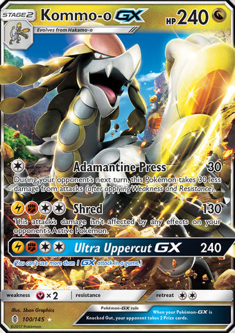 Kommo-o GX - 100/145 - Guardians Rising
