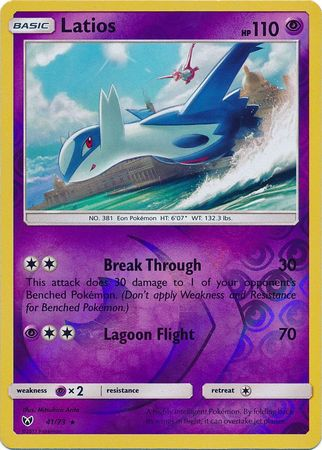 Latios Reverse Holo Rare - 41/73 - Shining Legends