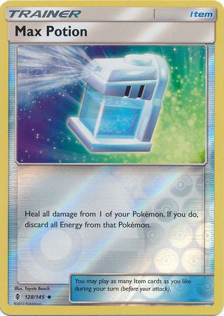 Max Potion Reverse Holo - 128/145 - Guardians Rising
