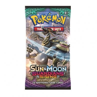 Guardians Rising PTCGO Booster Pack Code