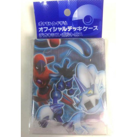 Pokemon Center 2012 Spiral Force Thunder Knuckle Team Plasma Deoxys Thundurus Large Size Deck Box