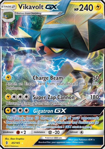 Vikavolt Gx 45 145 Guardians Rising Dead Draw Gaming