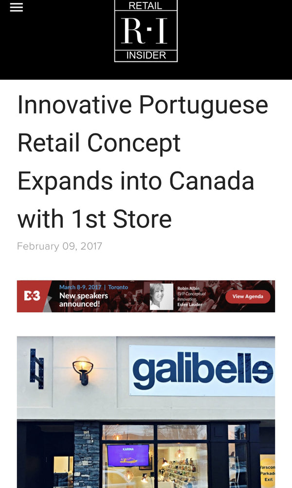 Retail Insider-Galibelle expands into Canada