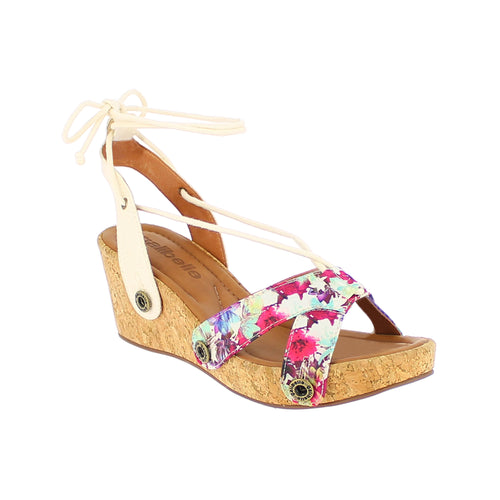 danni da20 multicolor satin/raw canvas strap - galibelle