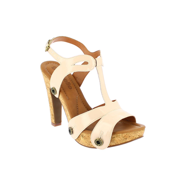 deise de11 varnish nude strap - galibelle