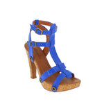 deise de12 snake royal blue strap - galibelle
