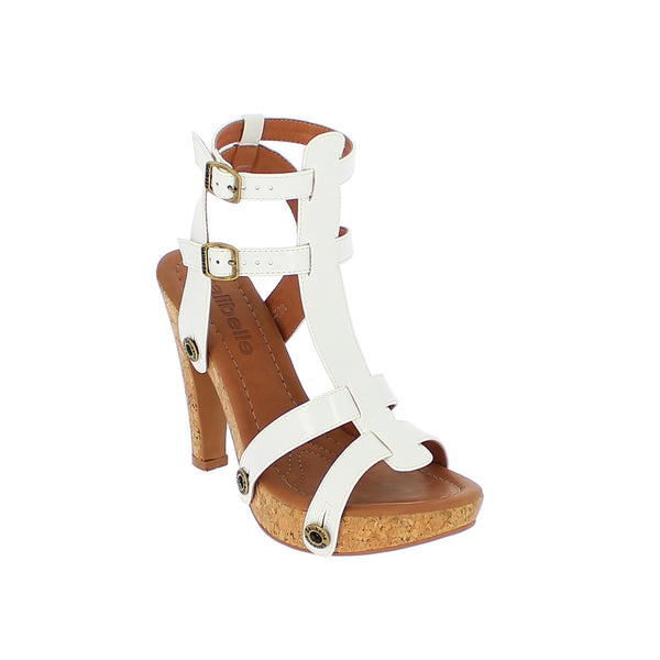 deise de12 varnish white strap - galibelle