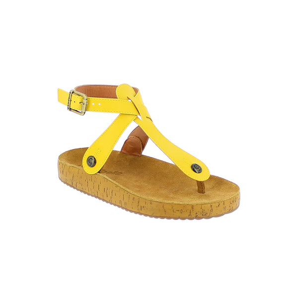 gabriela gb22 yellow atanado strap - galibelle