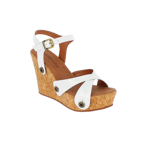 giovanna gv05 varnish white strap - galibelle
