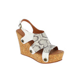 giovanna gv18 combo snake grey/varnish white strap - galibelle