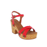 michelle me01 red atanado strap - galibelle